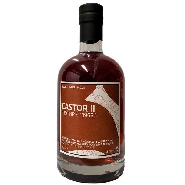 Castor 2007/2018 (Croftengea) Highland Single Malt Scotch Whisky 1st Fill Ruby Port Wine Barrique 58,7%