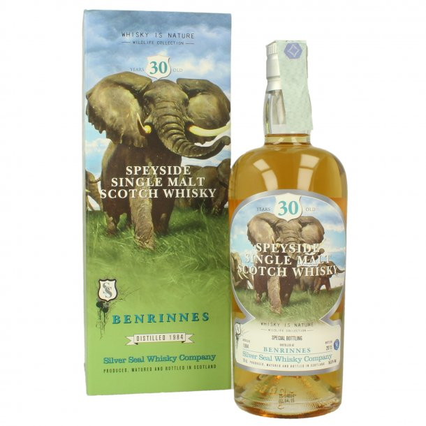 Benrinnes Silver Seal 30 YO 1984 2015 70cl 56,6% Single Cask