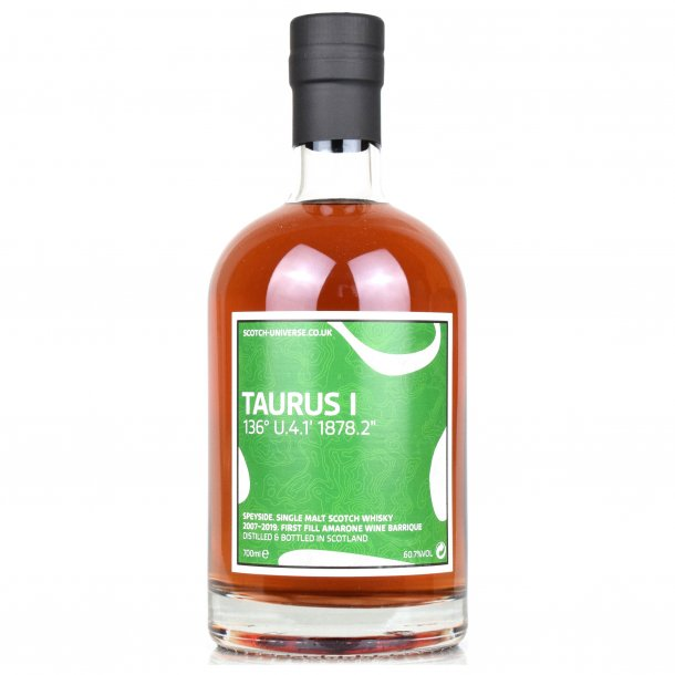 Taurus I 2007 - 2019 Speyside Single malt 60,7%